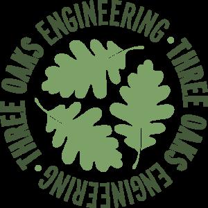 Logo for Three Oaks Engineering