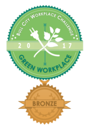 badge for Bull City Green Workplace - Bronze