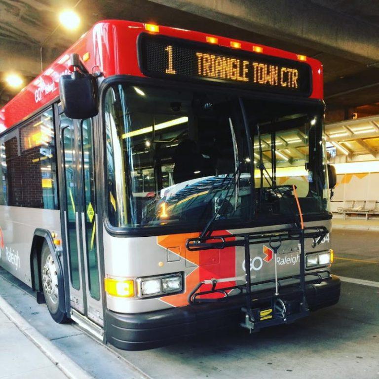 bus for GoRaleigh