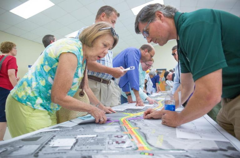 public meeting for Firetower Road