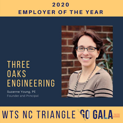 Three Oaks Named 2020 Employer of the Year by WTS NC Triangle