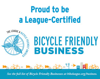 Three Oaks Engineering named a Silver Bicycle Friendly Business by the League of American Bicyclists