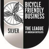 badge for bicycle friendly business silver