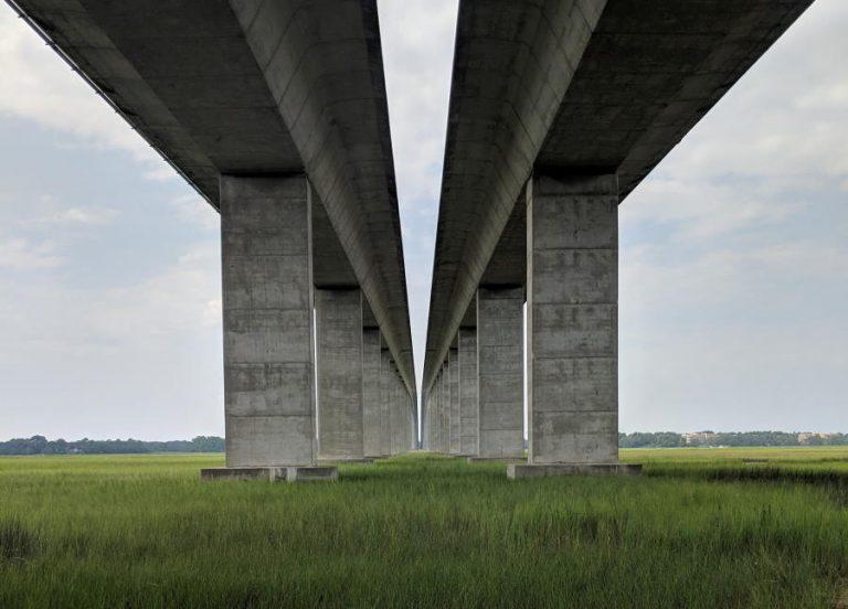 I-526 bridge over Wando River Charleston